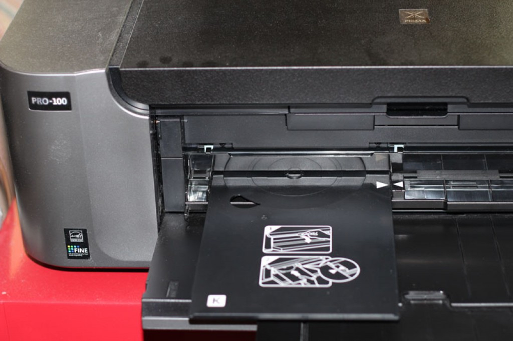 How to Print CDs with the Canon Pixma Pro-100 Printer – Long Tail Gifts