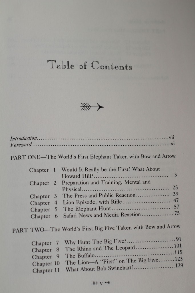 Archer in Africa by William Negley Table of contents