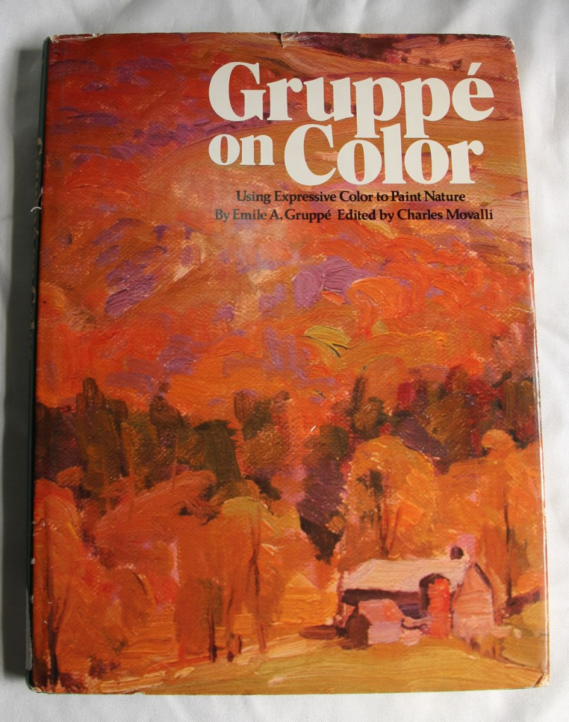Gruppe on Color: Front of Dustjacket
