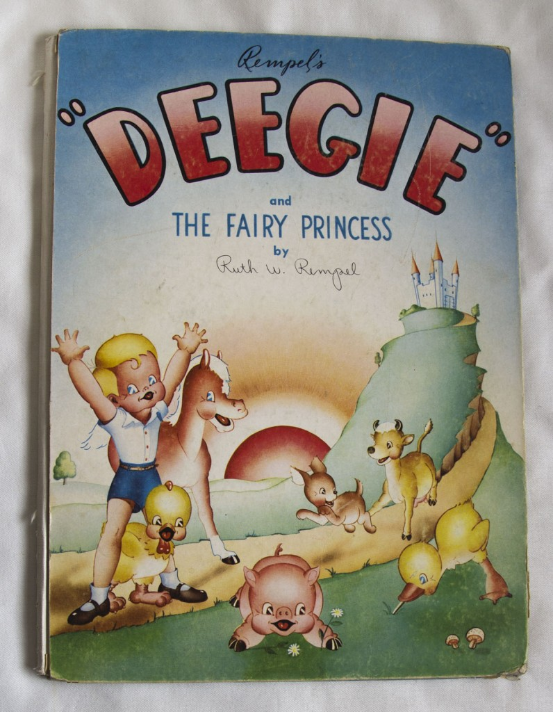Deegie and the Fairy Princess (Cover)
