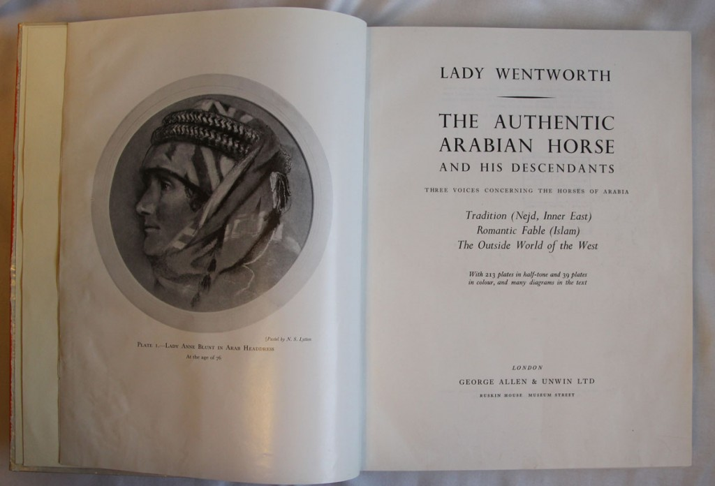 The Authentic Arabian Horse and His Descendants: Title Page