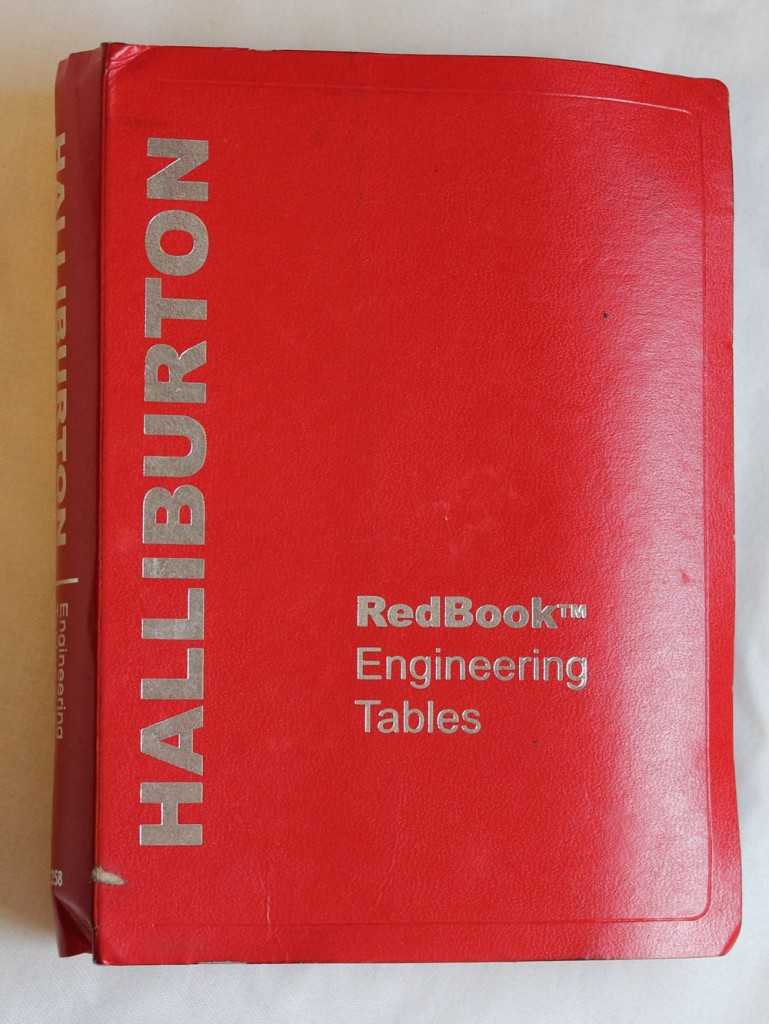 Halliburton Cementing Tables Red Book Engineering Tables