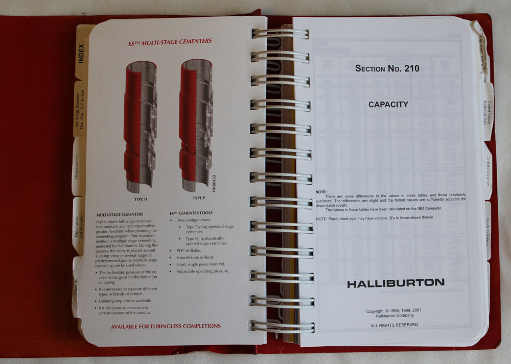 Halliburton Sample Pages
