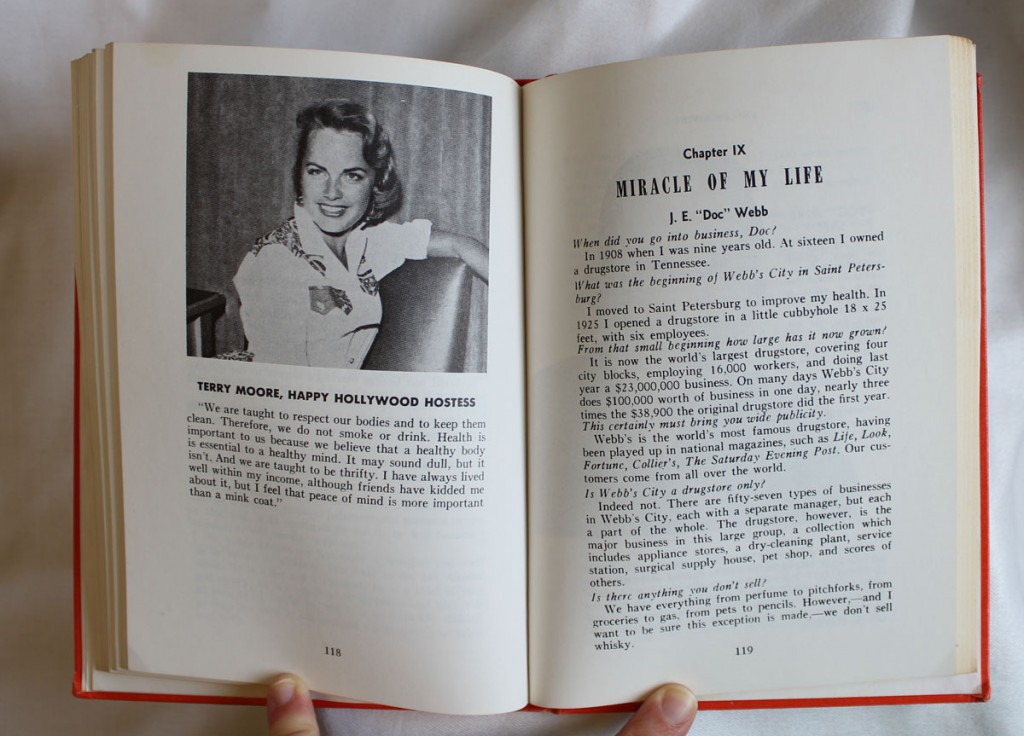 Sample page showing Terry Moore