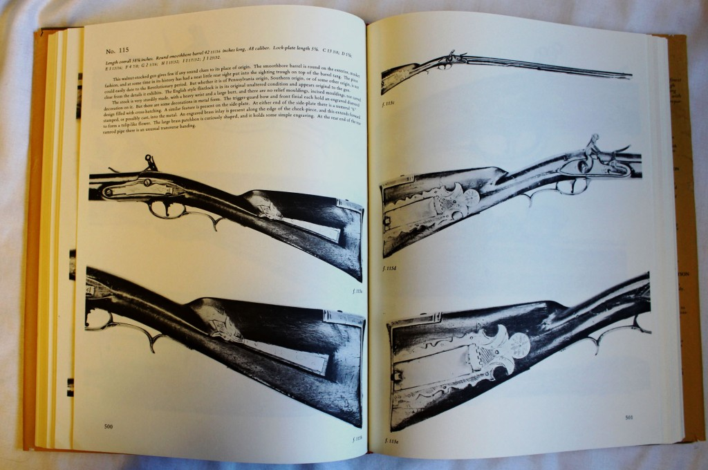 Rifles of Colonial America by George Shumway