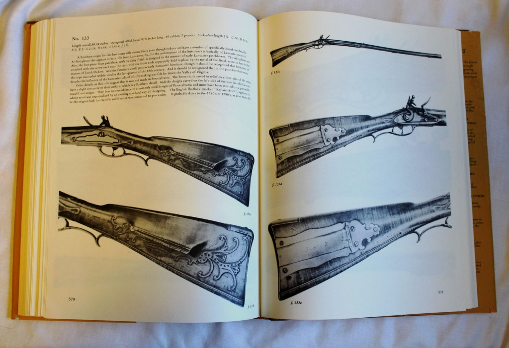 Rifles of Colonial America by George Shumway (Sample Pages)