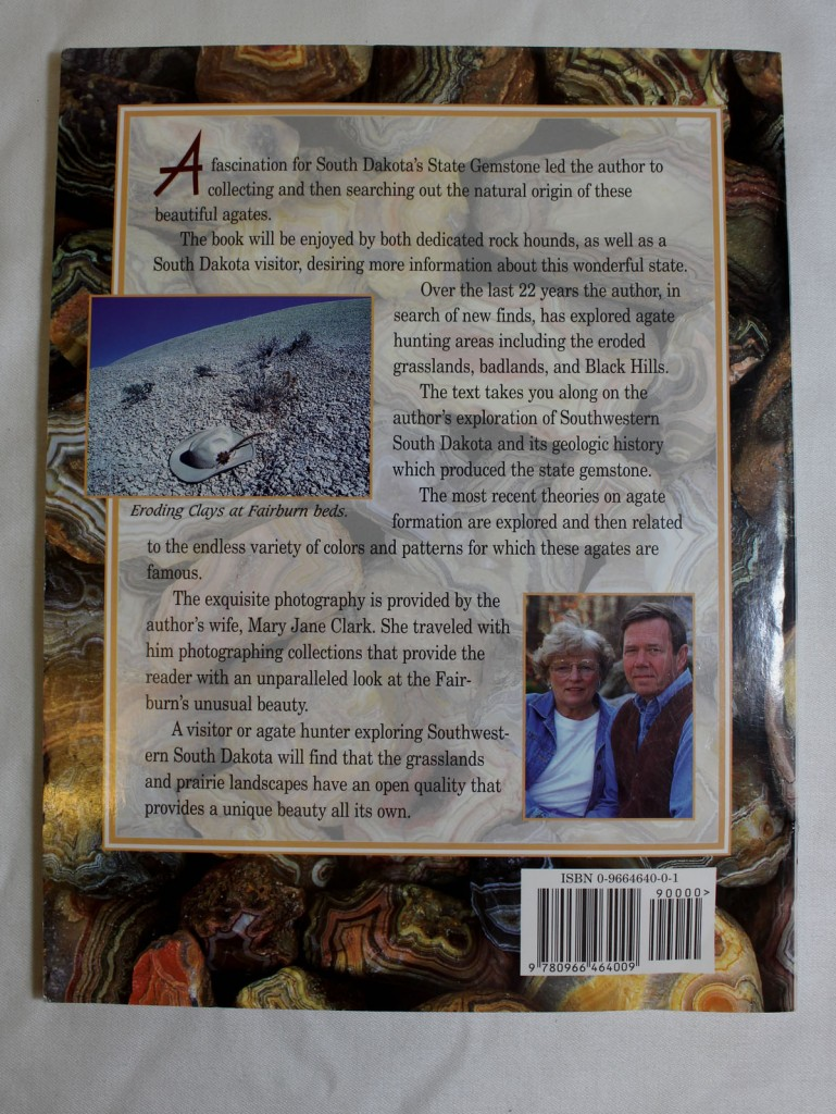 South Dakota's Fairburn Agate Back Cover